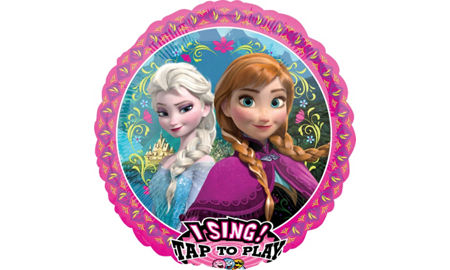 Frozen party supplies frozen birthday party ideas party city frozen balloon singing stopboris Image collections