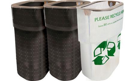45 Liter Fingerprint Proof Brushed Stainless Steel Semi Round On Trash