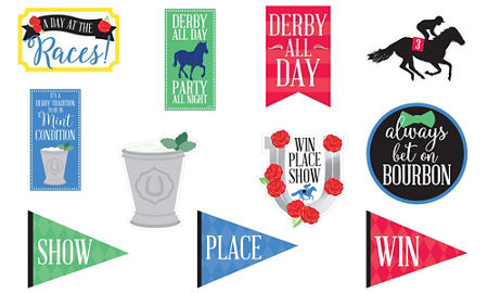 Horse Racing Derby Day Cutouts 11ct Party City Canada