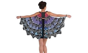 Costume wings angel wings fairy wings butterfly wings party city purple monarch butterfly wings solutioingenieria Gallery