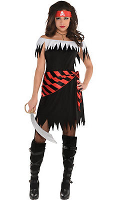 Pirate costume accessories pirate hats wigs swords party city adult ahoy katie pirate costume solutioingenieria Choice Image