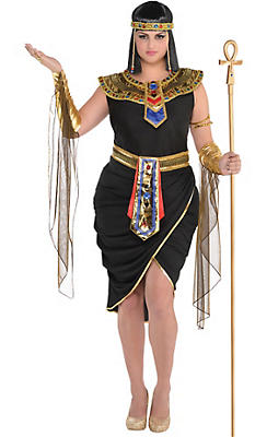 Egyptian roman greek costume accessories party city adult egyptian queen cleopatra costume plus size solutioingenieria Gallery