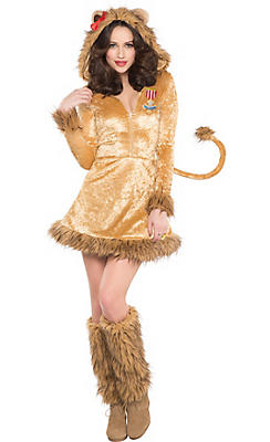 Wizard of oz costumes wizard of oz halloween costumes party city adult cowardly lion costume the wizard of oz solutioingenieria Gallery