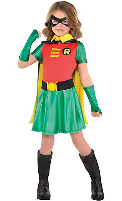 Batman And Robin Costume For Girls