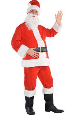 67f70e4190 Adult Flannel Santa Suit
