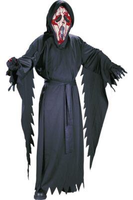 boys bleeding ghost face costume scream