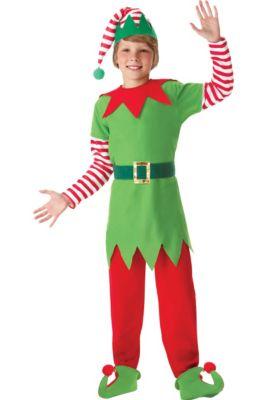 c4063b7ba4 Boys Elf Costume