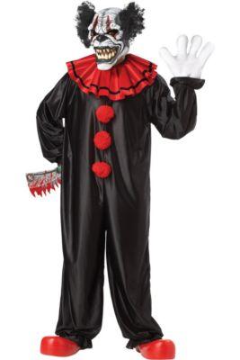 Spirit Halloween Clown Costumes Kids.Circus Costumes Ringmaster Sexy Clown Scary Clown