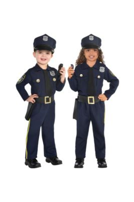 Kids Fireman Police Costumes Career Costumes For Boys Party City
