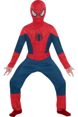 Spiderman Costumes for Kids   Adults - Spiderman Halloween Costumes ... 66c304fb9472