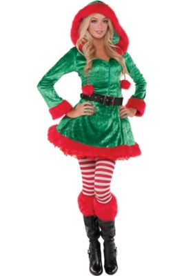 8784aafd1b Christmas Elf Costumes for Kids   Adults - Elf Outfits   Accessories ...