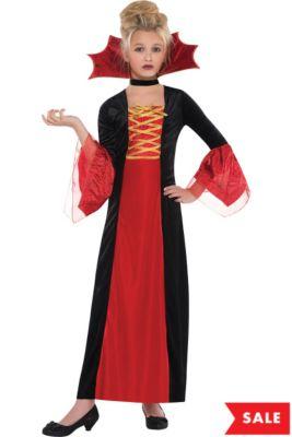 girls gothic princess costume
