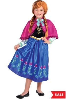girls anna costume frozen