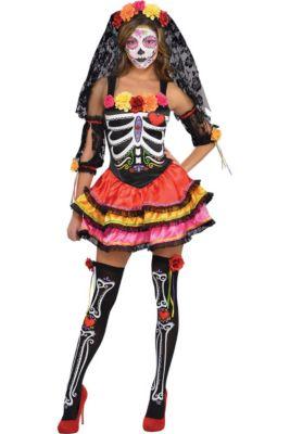 4d71792d2baa Adult Day of the Dead Senorita Costume