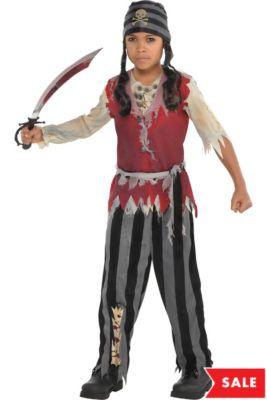 Boys Corpse Pirate Costume