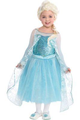 girls elsa costume premier frozen