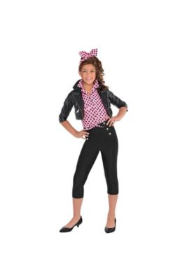 50s costumes sock hop costumes poodle skirts car hop costumes girls greaser costume solutioingenieria Gallery