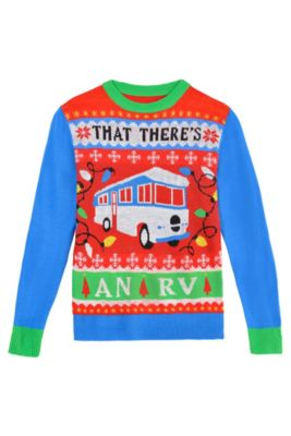 national lampoons christmas vacation rv ugly christmas sweater