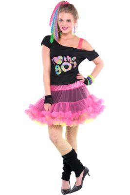 e3fd7fc0d33e5 Adult 80s Valley Girl Costume Deluxe