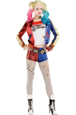 3fcb4b94e590 Adult Property of Joker Harley Quinn Costume - Suicide Squad