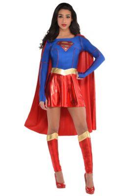 af7bc92b3e Adult Supergirl Costume - Superman