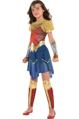 bbcec59abf97 Wonder Woman Costumes for Kids & Adults | Party City