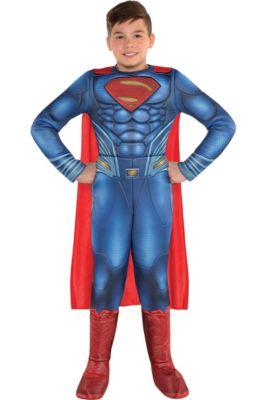Boys Superman Muscle Costume - Justice League Part 1