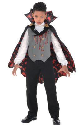 boys light up bloody vampire costume