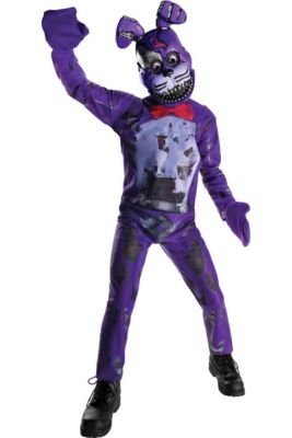 boys nightmare bonnie costume five nights at freddys 4