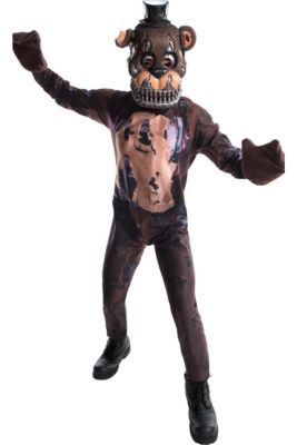 boys nightmare freddy fazbear costume five nights at freddys 4