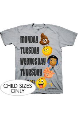 Child The Emoji Movie T Shirt