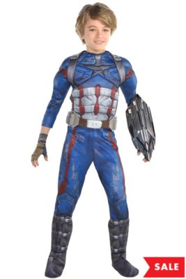 c289ca288bc3db Captain America Costumes for Kids   Adults - Captain America ...