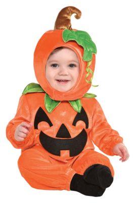 baby cute as a pumpkin costume