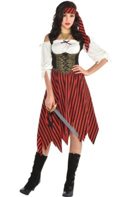 Pirate costumes for women sexy pirate costume ideas party city womens beauty pirate costume solutioingenieria Gallery
