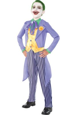 boys classic joker costume batman