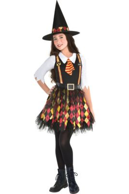 7754fd1a952 Witch Costumes for Girls - Kids Witch Costumes | Party City