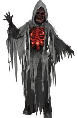 child smoldering reaper costume