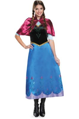 adult anna costume frozen