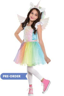 22e056796b Child Iridescent Rainbow Unicorn Costume
