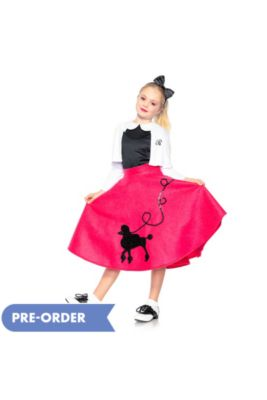 50s Costumes - Sock Hop Costumes, Poodle Skirts & Car Hop Costumes