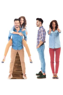 Life-Size Cardboard Cutouts | Party City