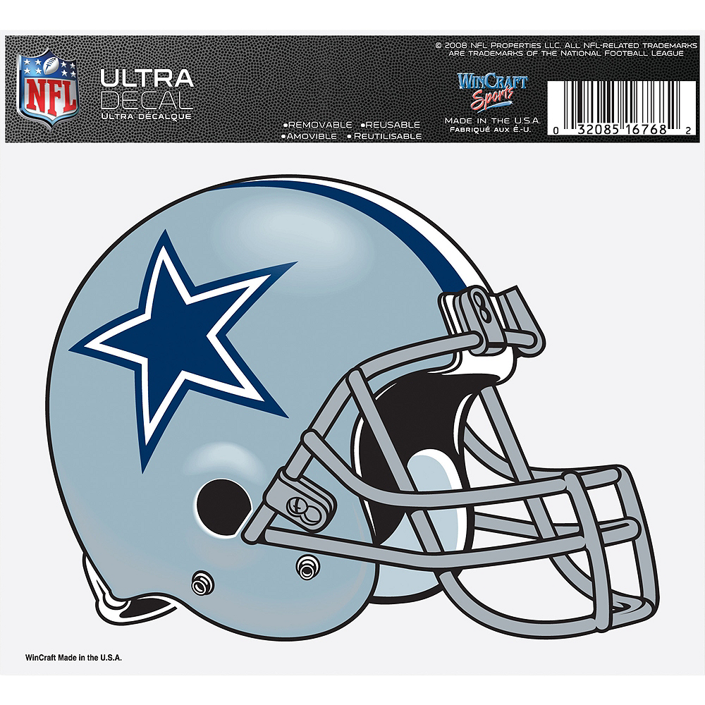 Dallas Cowboys Helmet Decal Image #2