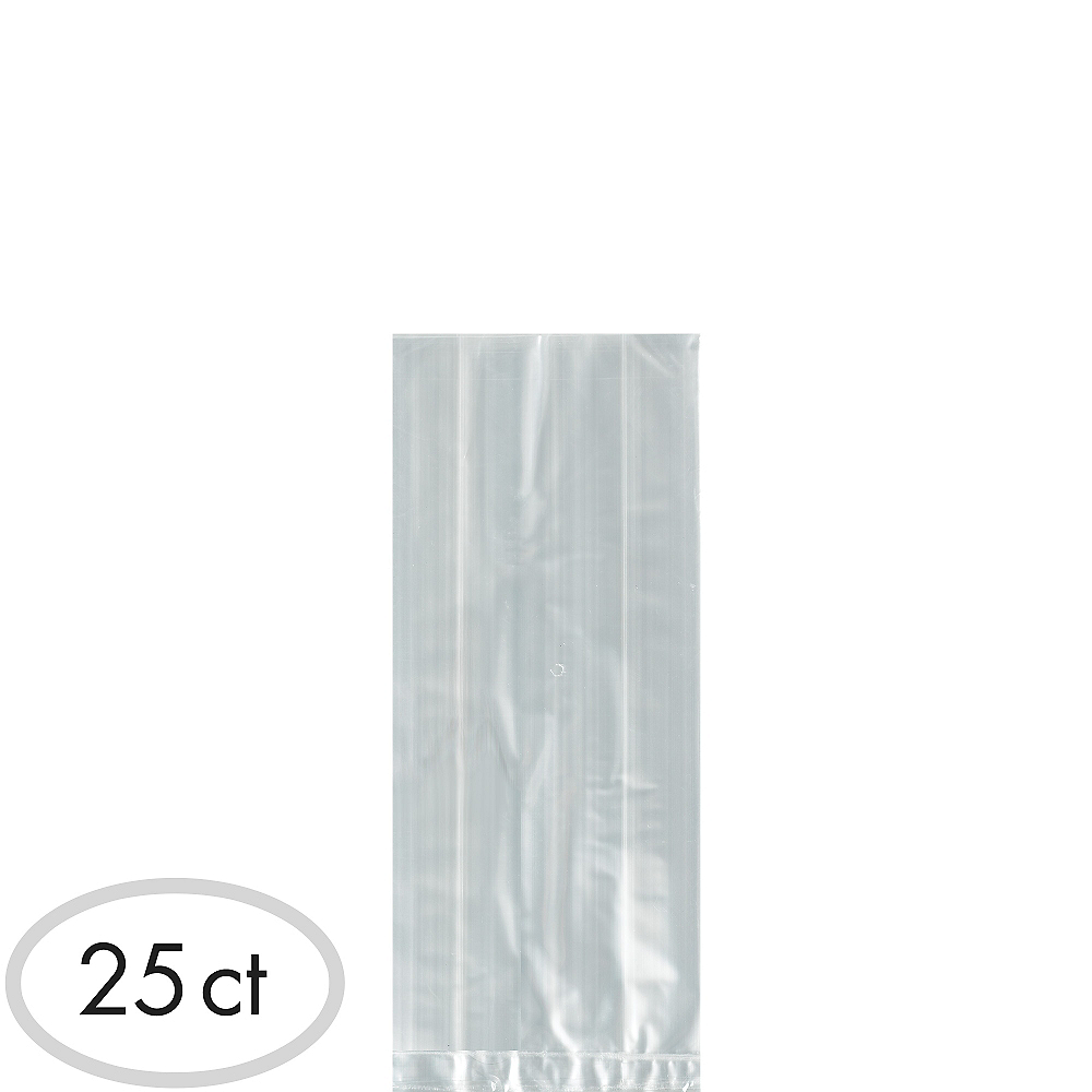 Small CLEAR Plastic Treat Bags 25ct Image #1