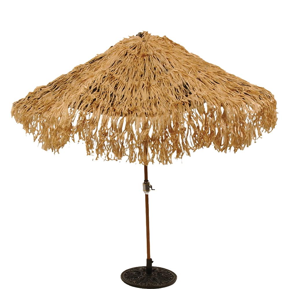 Hawaiian Thatch Umbrella Cover Image #1