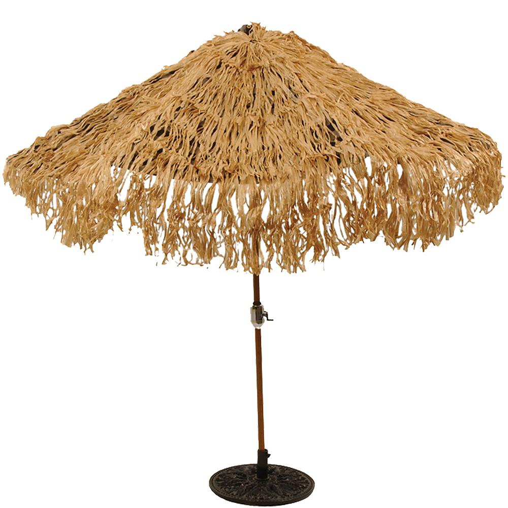 Hawaiian Thatch Umbrella Cover Image #2