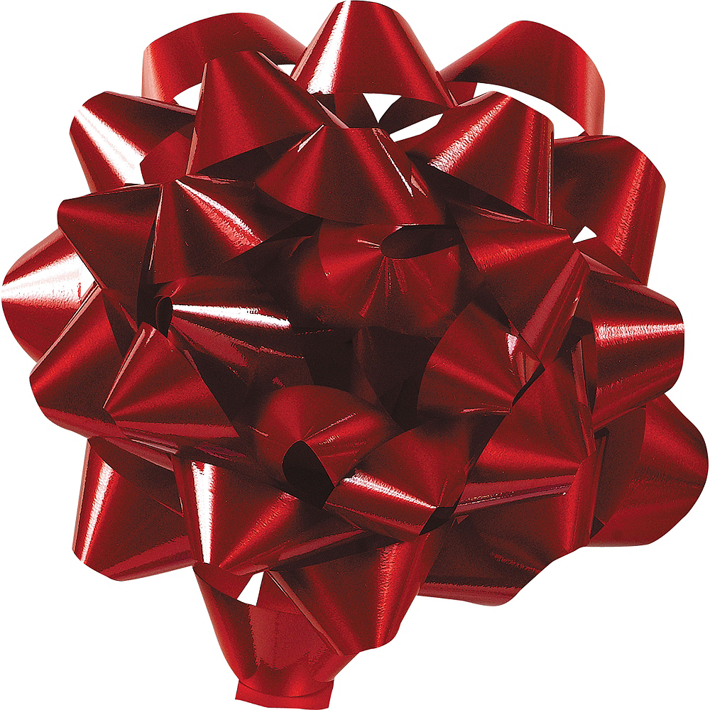Red Gift Bow Image #1