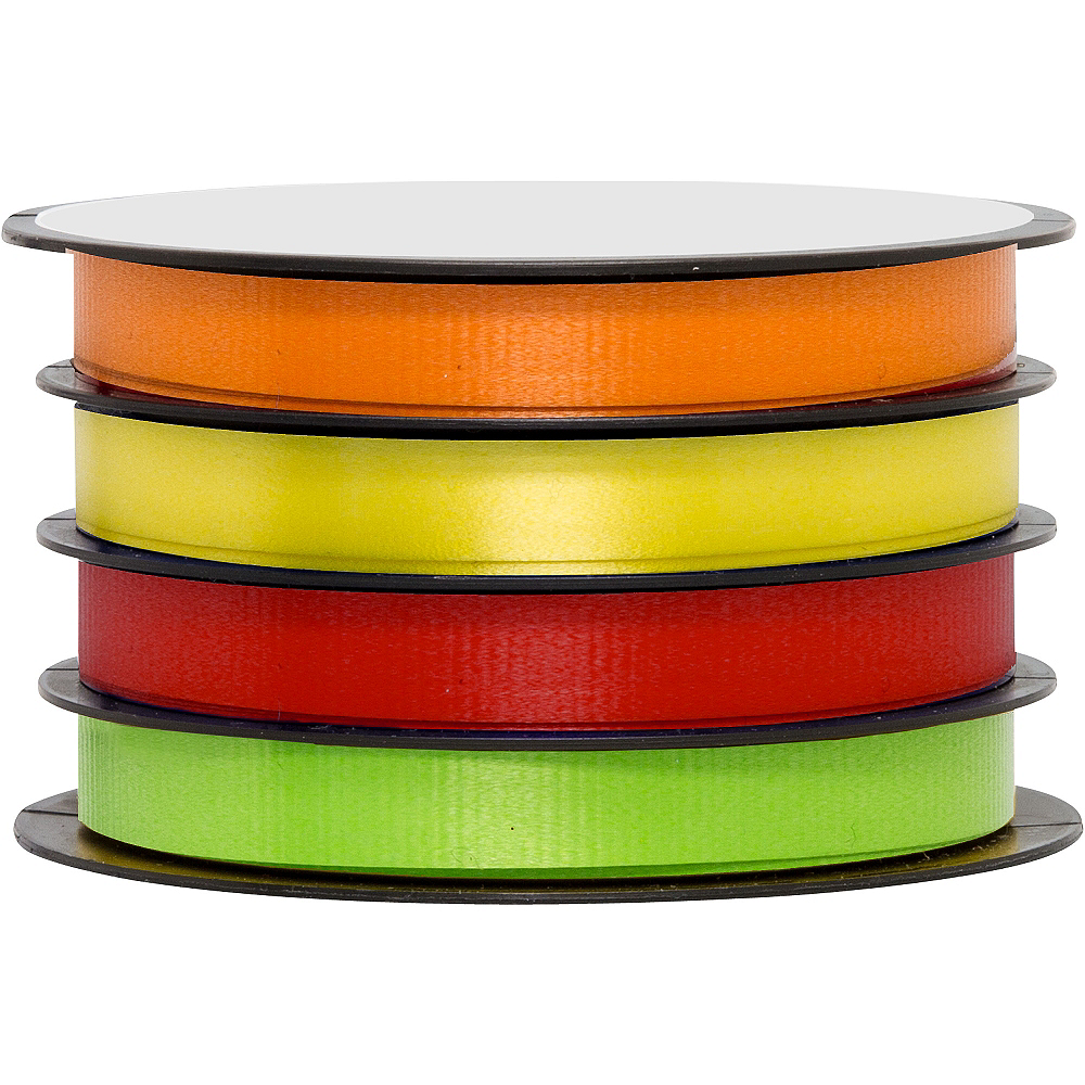 Bright Curling Ribbons 4ct Image #1