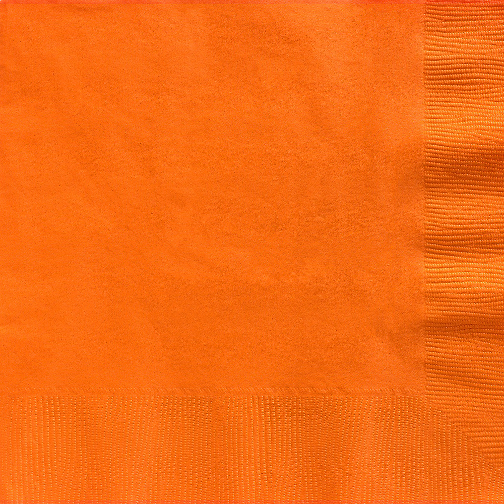 Orange Dinner Napkins 20ct Image #1