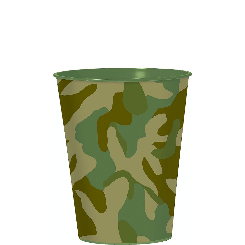 Camouflage Favor Cup Image #1