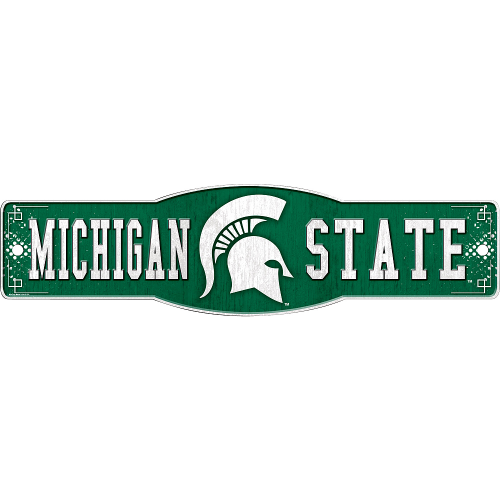 Michigan State Spartans Street Sign Image #1